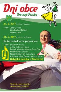 Dni_obce_Oravska_Poruba_2017