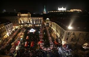 BRATISLAVA: Vianoèné trhy